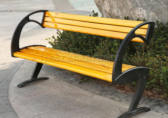 成都成华区休闲公园椅子