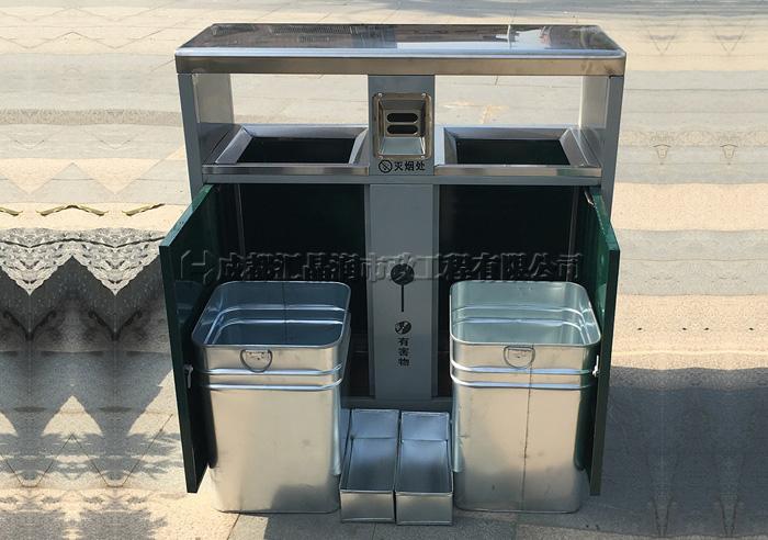 重庆钢制环卫垃圾桶