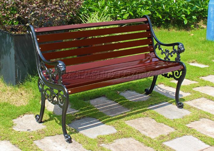南充休闲公园长椅Y-20371