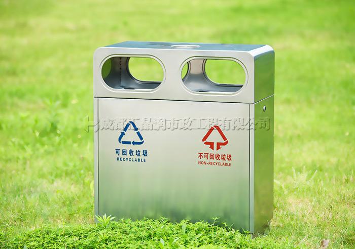 重庆不锈钢环卫果皮箱