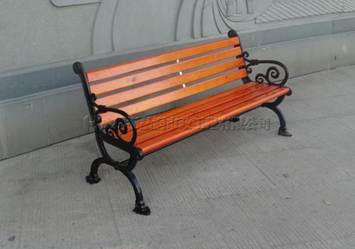 成都溫江區戶外公園長椅