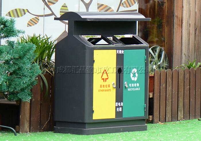 成都钢制分类垃圾桶