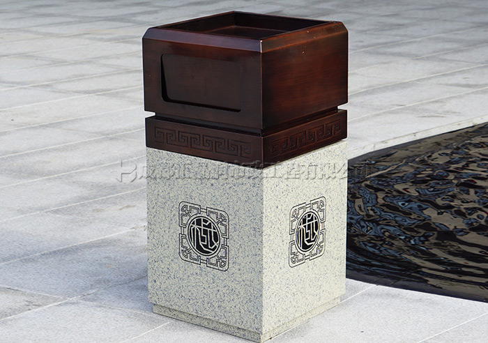 德阳什邡小区垃圾桶T-20380