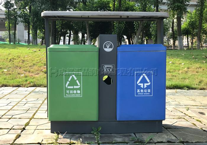 成都钢制市政环卫垃圾桶