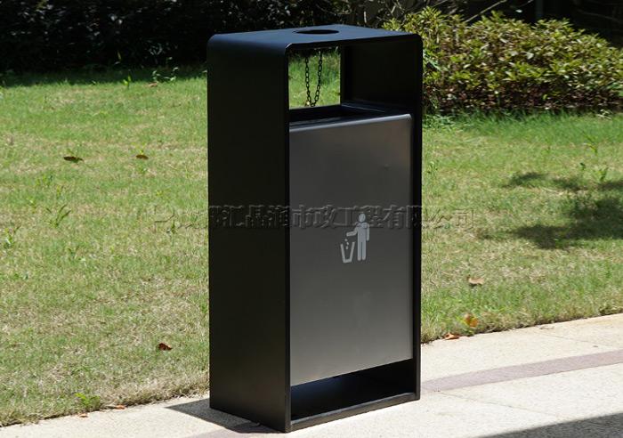 四川成都钢制环卫垃圾桶