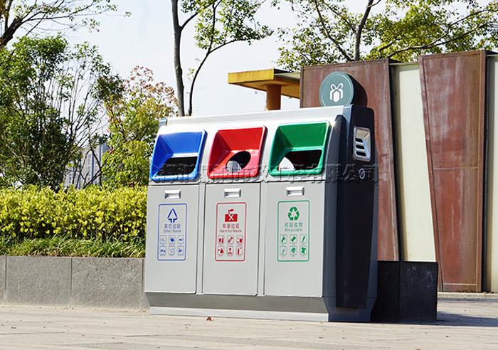 成都高新区分类垃圾桶