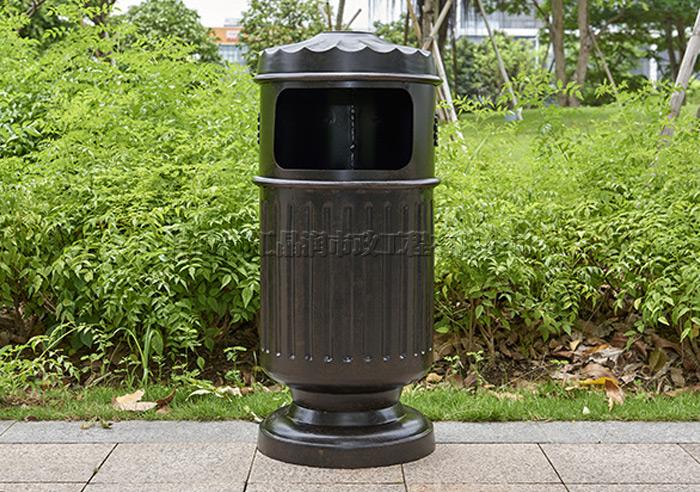 绵阳钢制高档小区垃圾桶