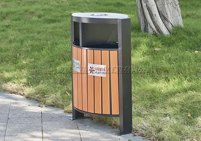 成都小区钢木垃圾箱
