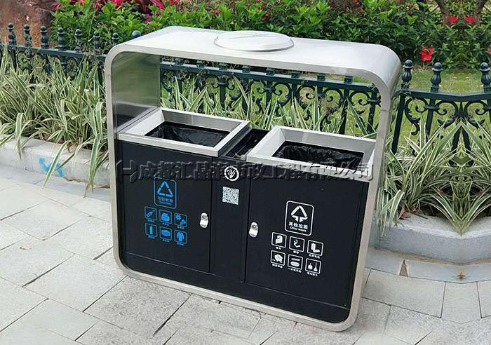 绵阳不锈钢环卫垃圾桶