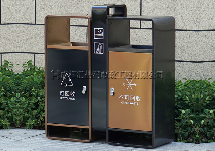 重庆不锈钢环卫垃圾桶