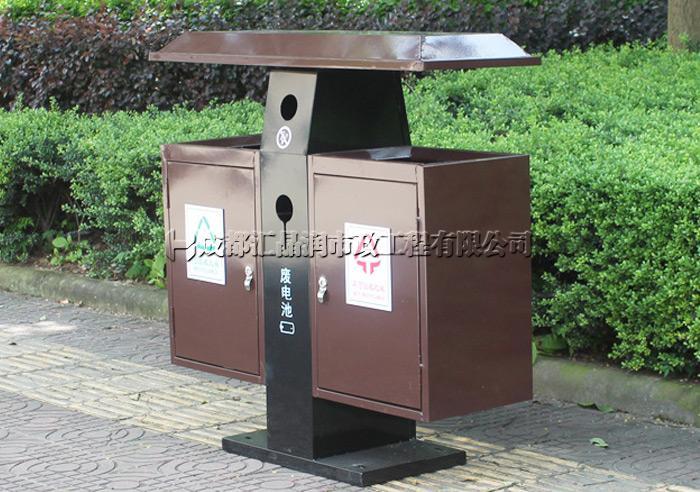 重庆景区古镇果皮箱垃圾桶