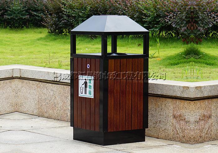 重庆公园果皮箱垃圾桶