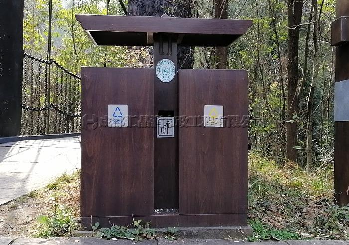 重庆定制款景区环卫果皮箱