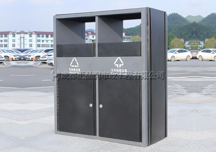 重庆金属环卫垃圾桶