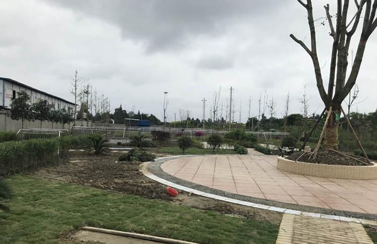 德阳工业园区休闲广场