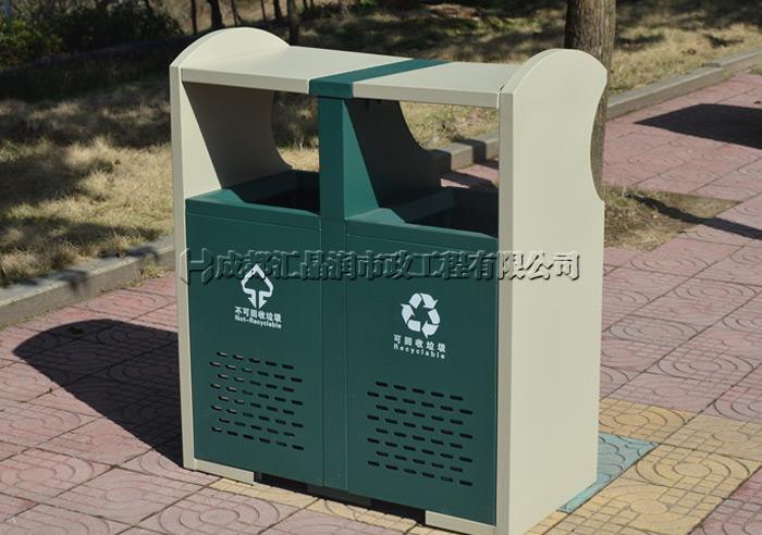 重庆街道环卫分类垃圾桶
