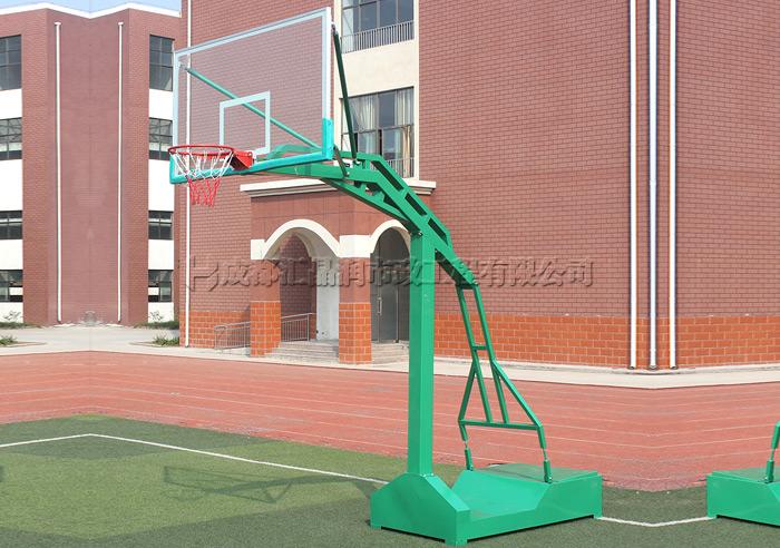 成都室外器材移动篮球架