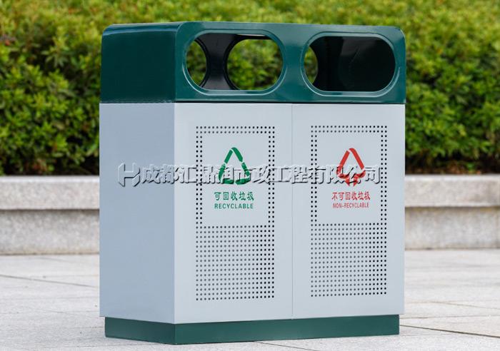 成都钢制冲孔垃圾桶