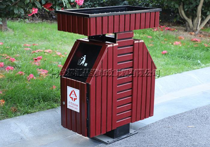成都花箱式街道垃圾桶